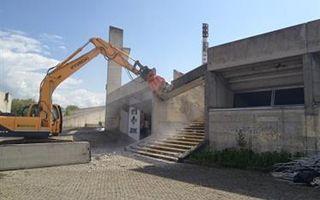 Udine: Prace rozbiórkowe na Friuli ruszyły