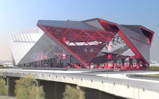 Atlanta: Ruszyła budowa wielkiego stadionu Falcons