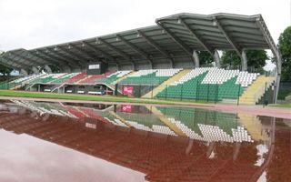 Jelenia Góra: Ledwo po przebudowie, a stadion w wodzie