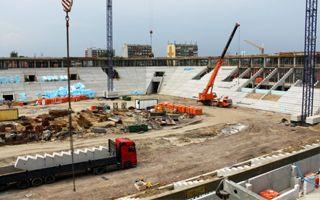 Tychy: Wkrótce przyjedzie dach nowego stadionu