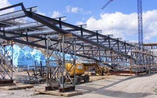 Tychy: Przyjeżdża dach nowego stadionu
