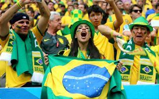Mundial 2014: Tylko wybrani Brazylijczycy świętują na stadionach