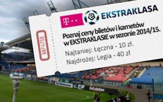 Ekstraklasa: Ceny biletów i karnetów na jesień 2014