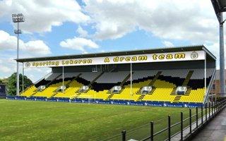 Belgia: Nowa trybuna w Lokeren otwarta