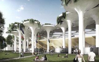 Nowy projekt: Stadion z zaworów od traktora?