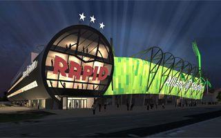 Wiedeń: Rapid złożył wniosek o pozwolenie na budowę