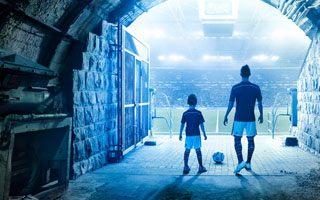Gelsenkirchen: Tunel stadionu Schalke jak szyb w kopalni