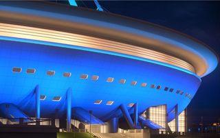 Sankt Petersburg: Iluminacja Zenit Areny za 40 milionów