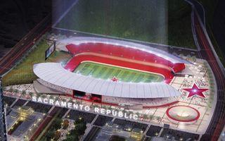 Sacramento: Republic wskazali lokalizację dla stadionu