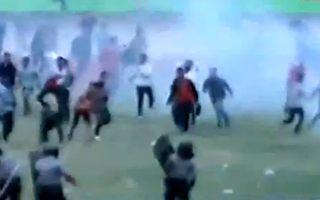 Indonezja: Kibic zabity na meczu w Solo