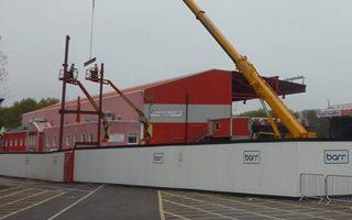 Bristol: Ruszyła budowa trybuny południowej Ashton Gate