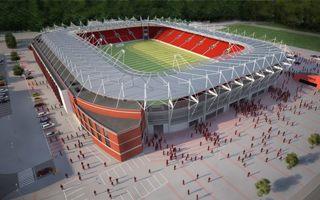 Nowy projekt: Stadion Widzew pokazany (tylko od ładnej strony)