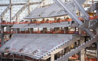Minneapolis: Imponujące postępy na budowie Vikings Stadium
