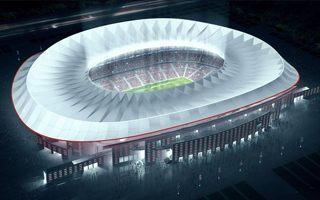 Madryt: Stadion Atletico o jeszcze jeden rok później