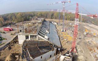 Łódź: Kibice ŁKS zaproszeni na zwiedzanie budowy