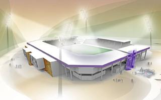 Nowy projekt: Rozcięty stadion w Aue