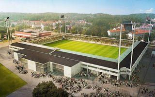 Nowy projekt/budowa: Betonowe Rambergsvallen