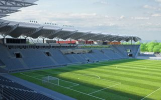 Łódź: Stadion ŁKS przekroczy 100 mln z jedną trybuną