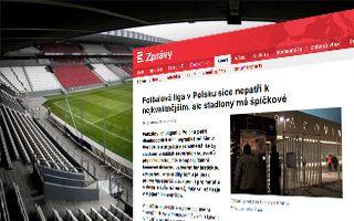 """Czechy: """"Liga w Polsce nienajlepsza, ale stadiony świetne"""""""