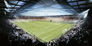 Chorzów: Kibice Ruchu chcą większego stadionu