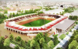 Nowy projekt: Ośmiokątny Steigerwaldstadion w Erfurcie
