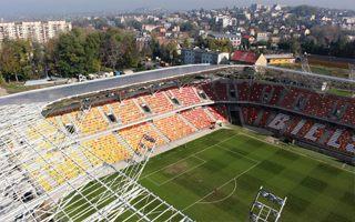 Bielsko-Biała: Pieniądze zabezpieczone, stadion urośnie w lutym