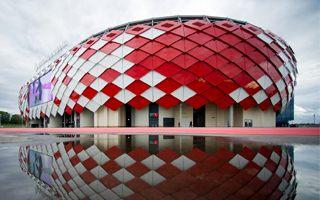 Moskwa: Stadion Spartaka w pełni mobilny
