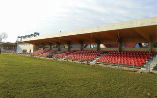 Niepołomice: Stadion Puszczy na ukończeniu