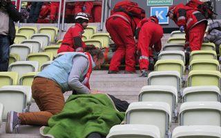 Gdańsk: Wielkie ćwiczenia ratownicze na PGE Arenie