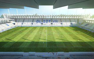 Nowy projekt: Stadion dla Olsztyna wg Baurenu