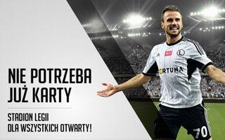 Warszawa: Legia rezygnuje z kart kibica (prawie)