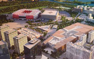Moskwa: Na stadion Spartaka dopłyniesz łodzią
