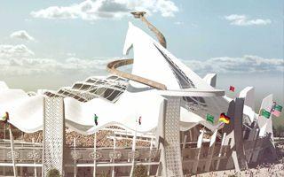 Nowy projekt: Stadion z łbem konia powstanie w Turkmenistanie