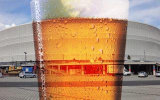 Wrocław: Stadion coraz bardziej dla piwoszy