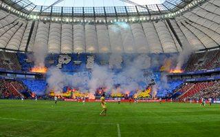 Finał Pucharu Polski: Narodowy zapłonął