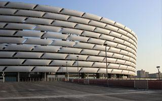 Nowy stadion: Azerski Olimpijczyk miesiąc przed otwarciem