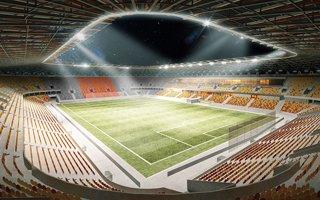Białystok: Stadion za mały przez kuriozalne bufory