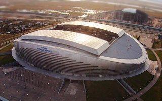 Kazachstan: Skandal w Astanie, Arena przecieka