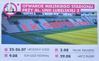 Łódź: Otwarcie stadionu ŁKS potrwa miesiąc