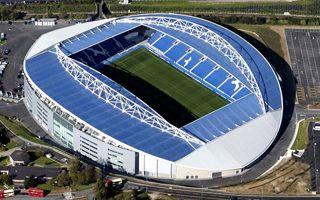 Anglia: Amex Stadium bryluje poza sezonem