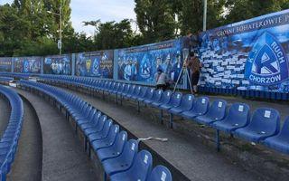 Chorzów: Stadion przy Cichej ozdobiony po mistrzowsku