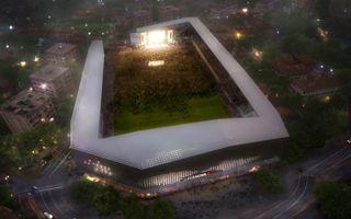 Nowy projekt: Stadion dopiero na szóstym piętrze