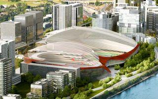 Nowy projekt: Hala i stadion pod jednym dachem