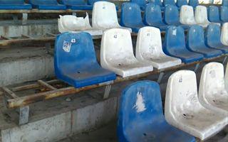 Kraków: Bezpański stadion Hutnika