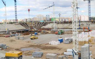 Rosja 2018: Dolne trybuny rosną w Sarańsku