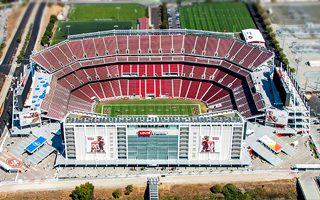 Kalifornia: Levi's Stadium oślepia pilotów