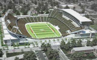 USA: CSU Stadium formalnie w budowie