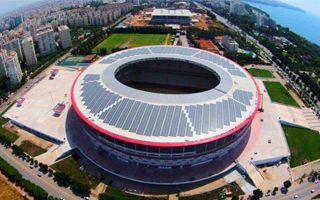 Nowy stadion: Pierwszy słoneczny stadion w Turcji