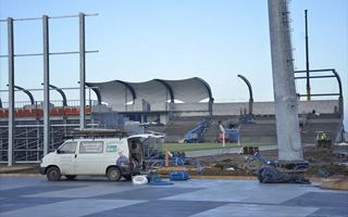 Nieciecza: Otwarcie przebudowanego stadionu w listopadzie?