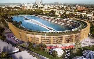 Australia: Zamiast stadionu zalew do surfingu